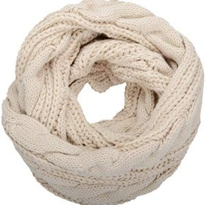 Accessories - 🌹 NEW - Tan Knitted Infinity Scarf